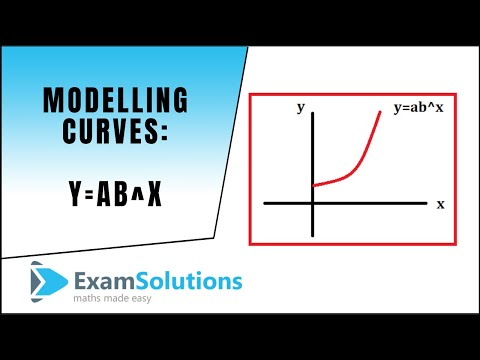 Modelling Curves y=ax^b : Converting to Linear Form Example | ExamSolutions
