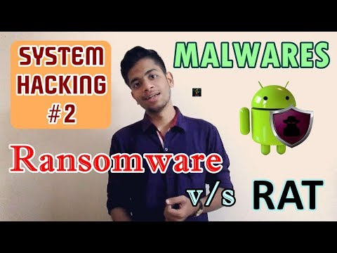 [HINDI] What is a Malware? | Dangerous Types | Ransomware and RAT Explained