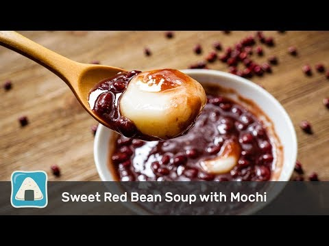 Effortless Sweet Red Bean Soup with Homemade Mochi (Instant Pot)