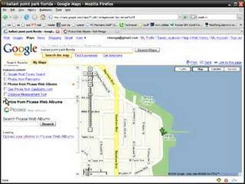 Location-Tagging Picasa Photos for Google Maps