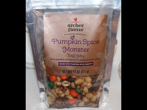 Pumpkin Spice Monster Trail Mix Review