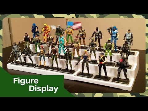 Affordable Action Figure Display