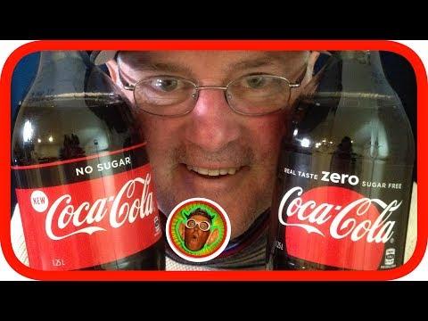 Coca Cola NO SUGAR vs ZERO | Blind Taste Test