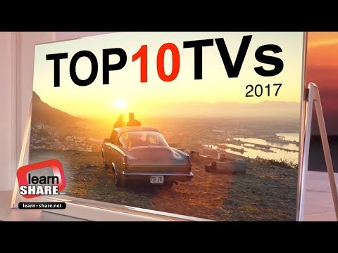 Top 10 Best TVs 2017 Ultra HD 4K, HDR, 1080p Screen's