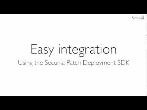 Secunia CSI 6.0: Using the SDK to integrate Altiris Patch deployment solution