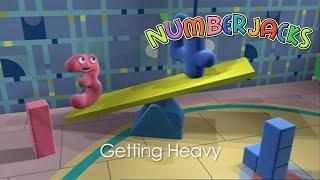 NUMBERJACKS | Getting Heavy | S1E8