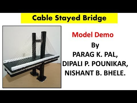 Introduction to Cable stayed bridge model.