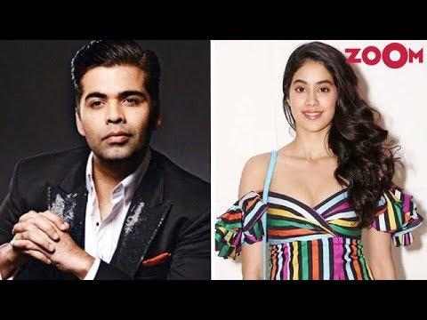 Karan Johar Gets Protective About Janhvi Kapoor | Special Advice For Janhvi