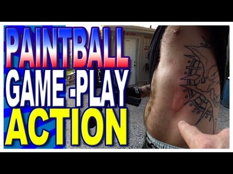 Paintball Game Play August 2013 - Barrie Paintball