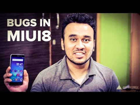 All of the bugs in Xiaomi Redmi Note 3 MIUI 8 beta