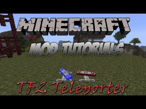 Minecraft 1.5.2 - How To Install The TF2 Teleporter Mod