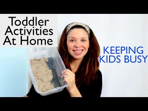 Toddler Activities At Home That's Inexpensive - Keeping Kids Busy