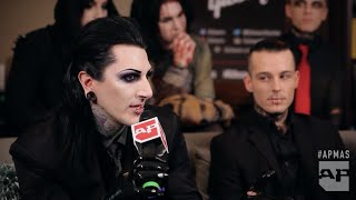 Motionless In White talk next album in the APMAs GIBSON Backstage Lounge