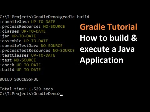Gradle Tutorial : How to build and run a Java Application