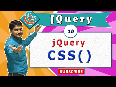 jQuery video tutorial 10 - jQuery CSS Method