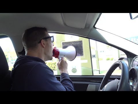 How To Order Fast Food At The Drive Thru Yanagi Style