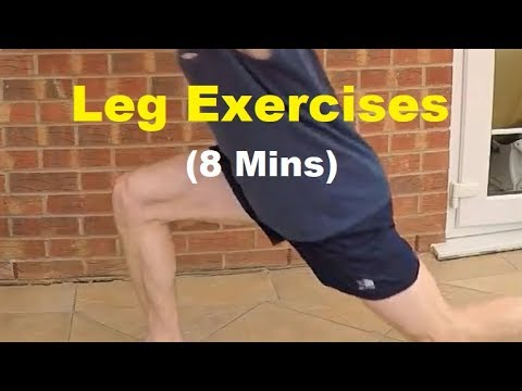 Home Strength Workout For Runners - Legs/Lower Body Exercises