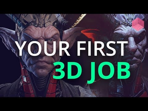 Getting Your First Job and Internship as a 3D Artist