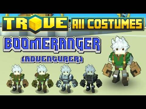 Trove - All Boomeranger Costumes (July 2015)!