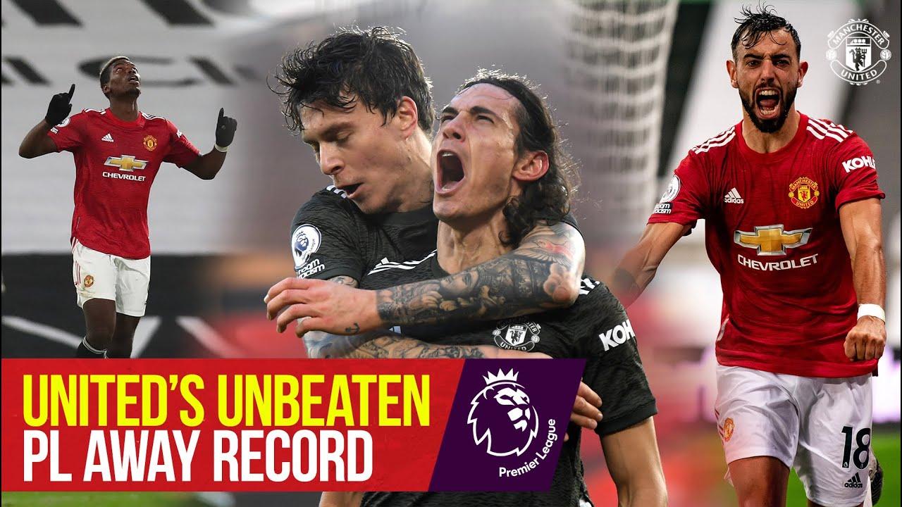 Manchester United's Unbeaten PL Away Record   Premier League Season Review 2020/21