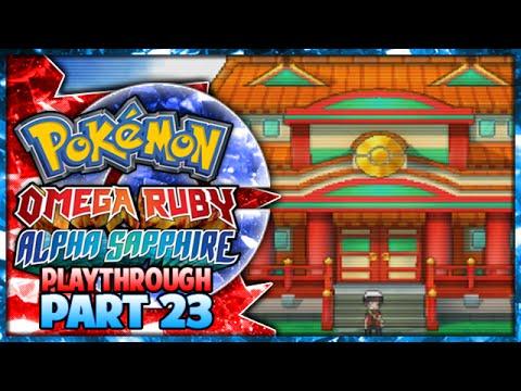 Pokemon Omega Ruby & Alpha Sapphire Playthrough Part 23 - Victory Road!