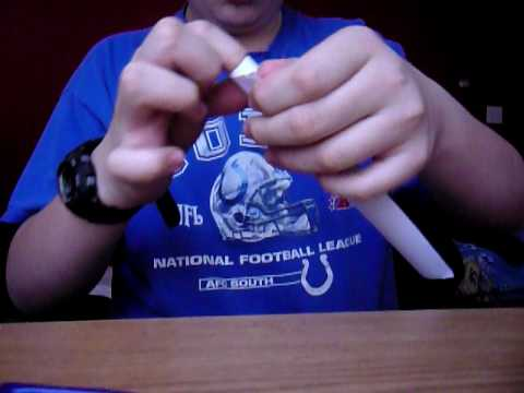 how to make a paper blowgun better