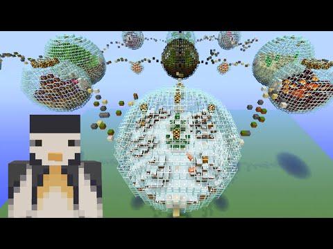 Minecraft Xbox - Hunger Games - Bubble Biome