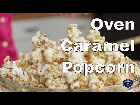 How To Make Perfect Caramel Popcorn in the Oven || Le Gourmet TV Recipes