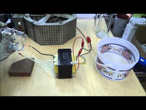 How To Cut Glass With A Hot Wire. A Useful Way To Cut Round/Odd shaped Glass. RWGrrsearch.com