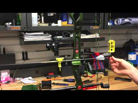 Fulcrum Archery - Setting Up Initial Nock Point