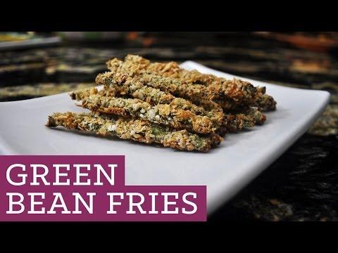 Green Bean Fries - Fried Green Beans - Mind Over Munch