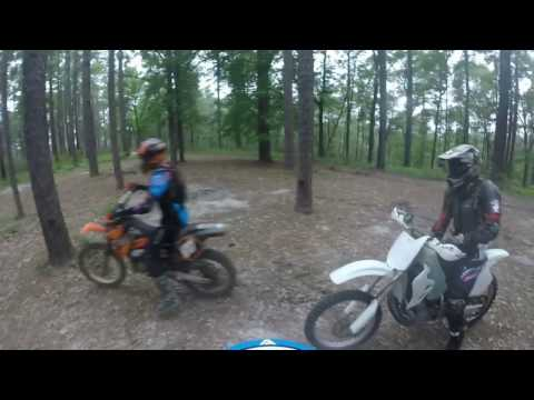 YZ250 Swamp Donkies Rides Again part1