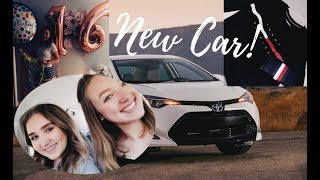 Download 16th BIRTHDAY VLOG || GETTING MY LICENSE + NEW CAR + CAR TOUR Video
