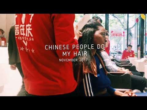 BLACK GIRL gets hair done IN CHINA (FAIL!) | Shanghai, CHINA| Maryjane Byarm