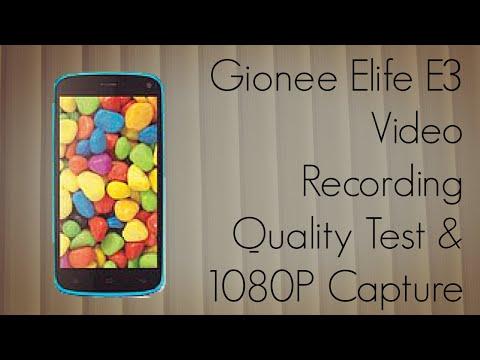 Gionee Elife E3 Video Recording Quality Test & 1080P Capture Demo - PhoneRadar