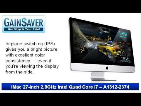 GainSaver Reviews & Deals: Used Cheap Refurbished iMac 27
