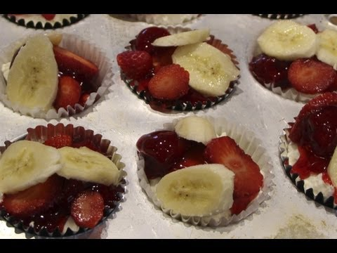 Cupcakes ( Cheese Cake Cupcakes No Bake) / Cheryls Home Cooking