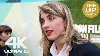 Adèle Haenel on Portrait of a Lady on Fire at London Film Festival premiere interview