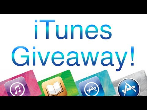 (OPEN) iTunes Gift Card Giveaway!