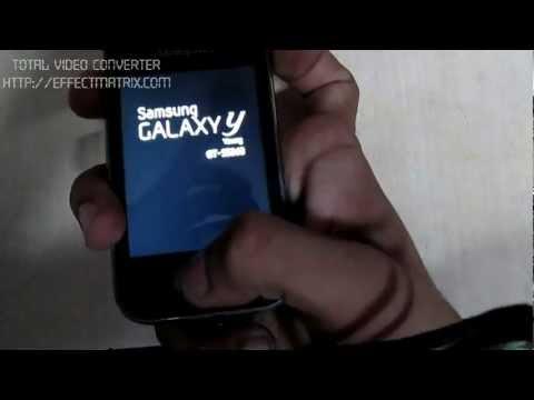 Hd installation ics or jelly bean on Galaxy Y .mp4