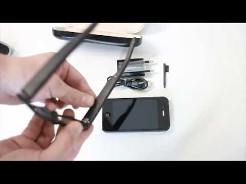 SBL02 spy micro earphone bluetooth glasses - user manual - spystudy