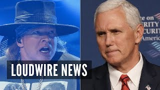 Axl Rose Blasts White House for