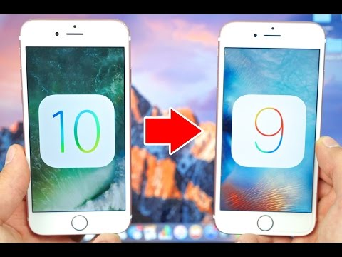How To Uninstall/Downgrade iOS 10 to iOS 9 Without Losing Data