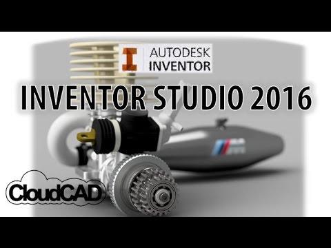How to use Inventor Studio 2016 | Autodesk Inventor
