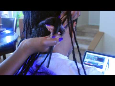 How To Combine Long Locs W/Thin Roots