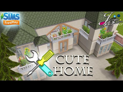 The Sims FreePlay 🛠| LIVE BUILD ⚠️😻| CUTE HOME |😻 By Joy.