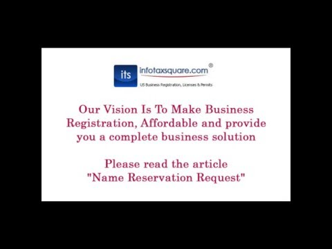 Name Reservation Request