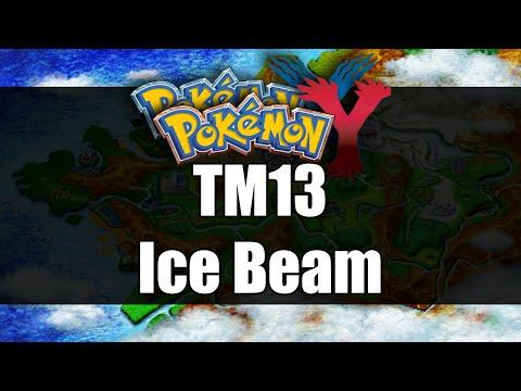 Pokemon X & Y | Where to get TM13 Ice Beam