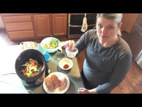 Crockpot chicken fajitas 1