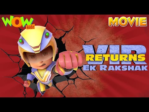 Xxx Mp4 Vir The Robot Boy Hindi Cartoon Movies For Kids ViR Ek Rakshak Animated Movies Wow Kidz 3gp Sex